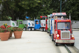 The Convoy in action at Hersheypark