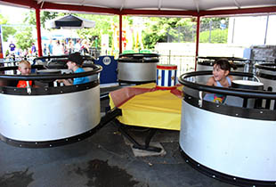 The Dizzy Drums in action at Hersheypark