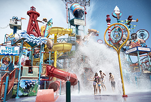 The East Coast Waterworks in action at Hersheypark