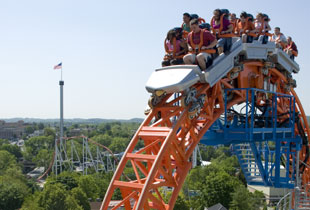 The Fahrenheit in action at Hersheypark