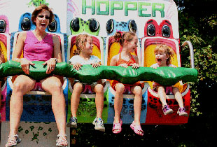 Frog Hopper Ride at Hersheypark