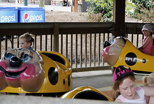 The Granny Bugs in action at Hersheypark