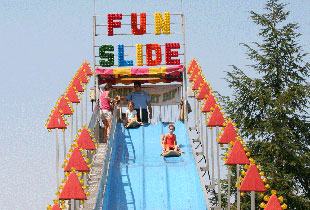 Merry Derry Dip Fun Slides