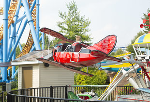 Red Baron Ride at Hersheypark