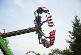 The The Claw℠ in action at Hersheypark