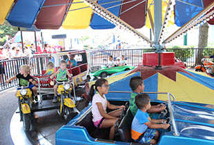 The Traffic Jam in action at Hersheypark