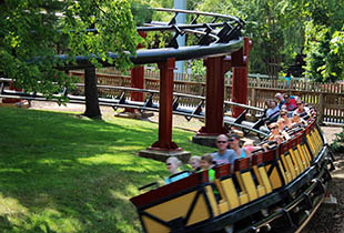 The Trailblazer in action at Hersheypark