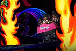The Laff Trakk℠ in action at Hersheypark