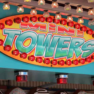 Mini towers game at Hersheypark