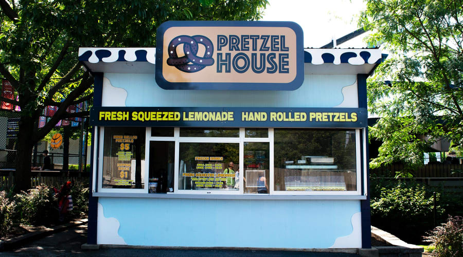 Pretzel House near the Kissing Tower