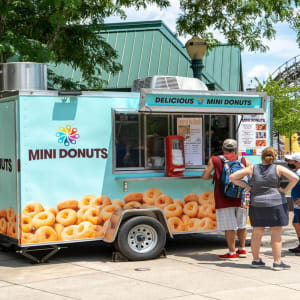 Mini Donut Stand