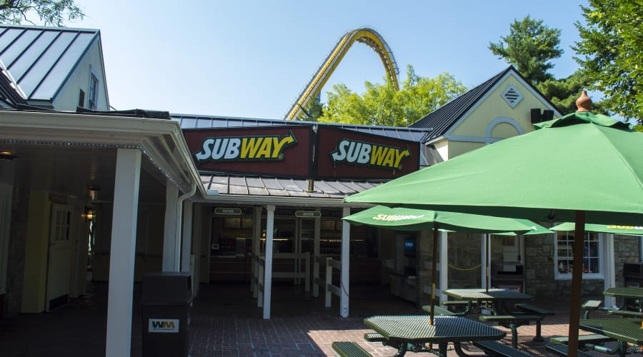 Subway location in Founder's Way