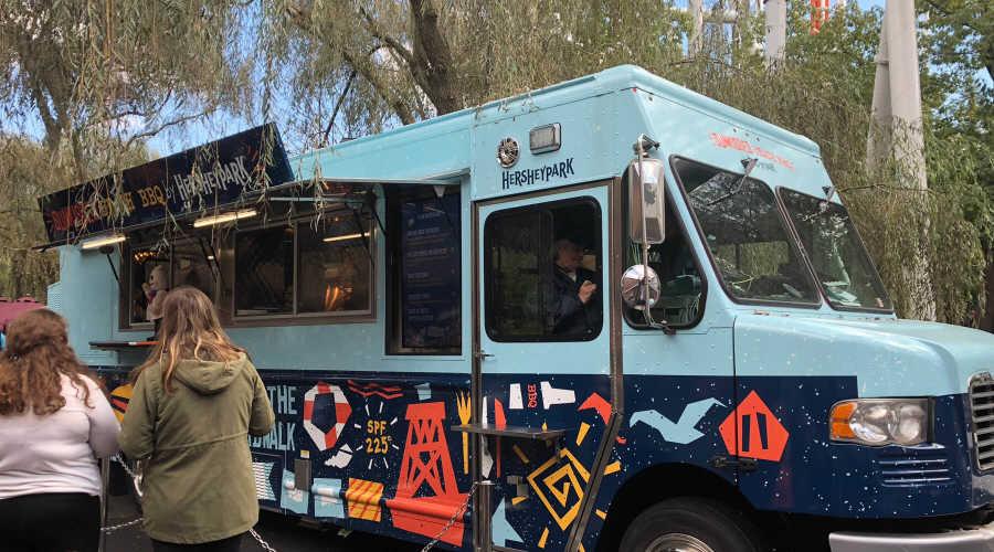 Sunkissed Beach BBQ food truck at Hersheypark