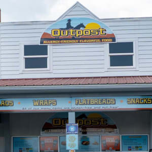 The Outpost allergy friendly food at Hersheypark