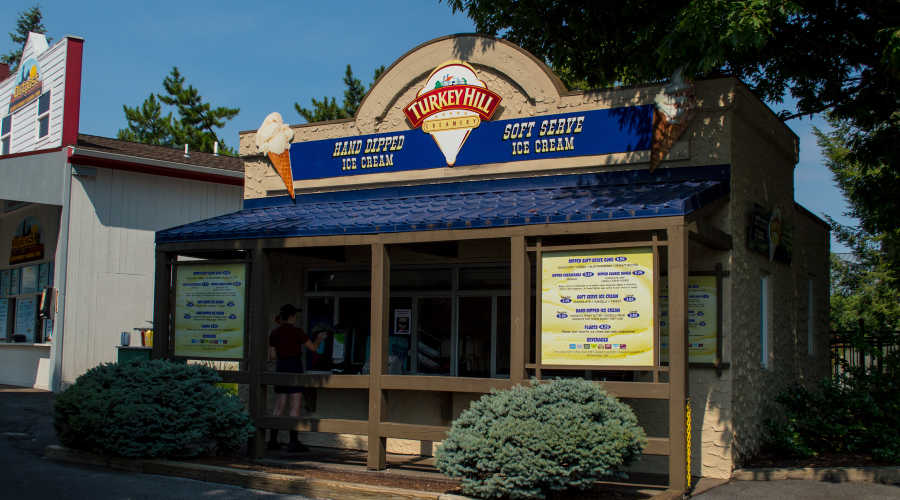 Turkey Hill Creamery inside Hersheypark