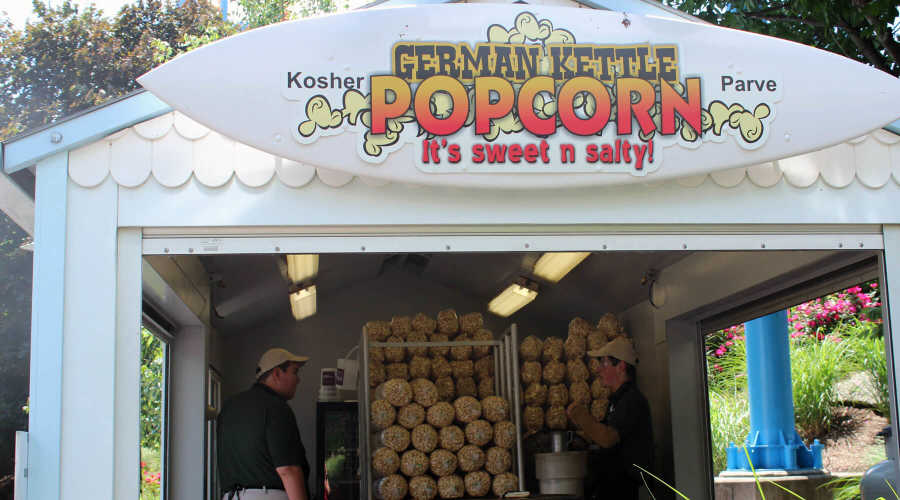 Kettle Popcorn on the boardwalk
