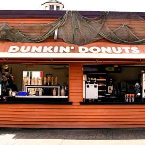 Dunkin Donuts on the Boardwalk