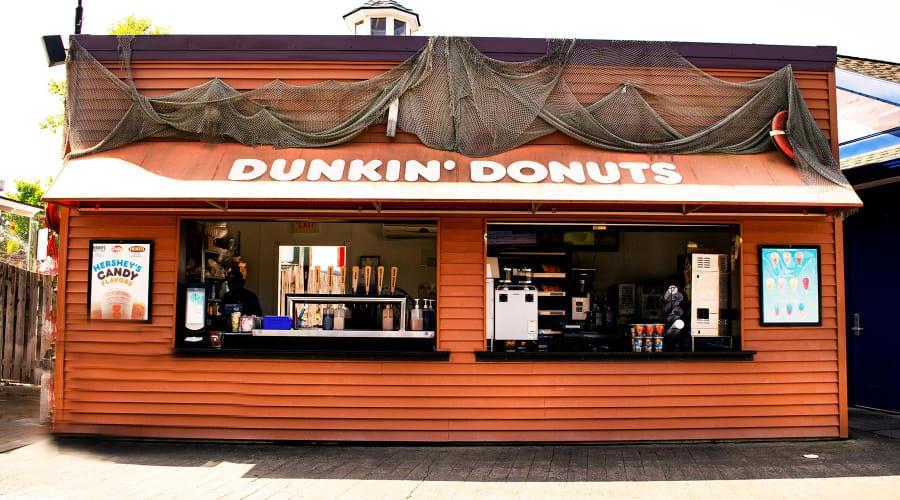 Dunkin Donuts on the Boardwalk
