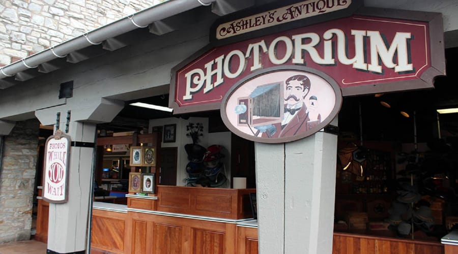 Antique Photorium inside Hersheypark