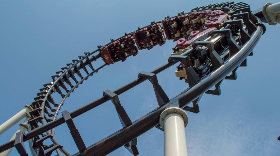 Sidewinder Rollercoaster at Hersheypark