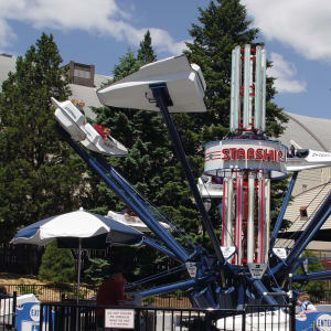 Starship America Ride at Hersheypark