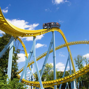 Skyrush Rollercoaster at Hersheypark