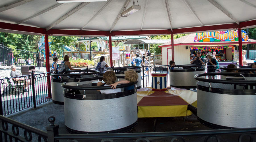 Dizzy Drums Ride at Hersheypark