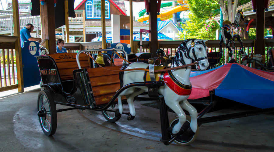 pony parade ride at Hersheypark