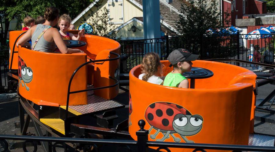 Ladybug Ride at Hersheypark
