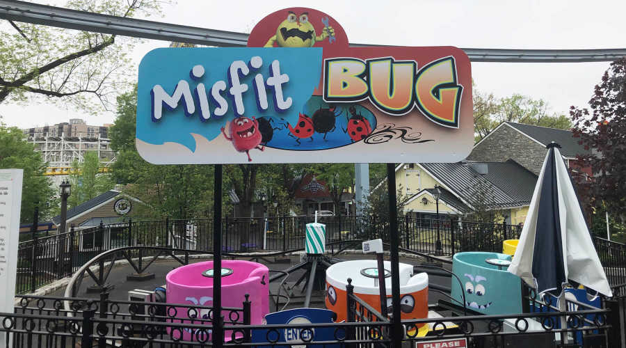 Misfit Bug ride at Hersheypark